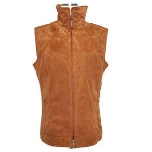 Bogner Brown Full Zip Up Vest Size 42(12)